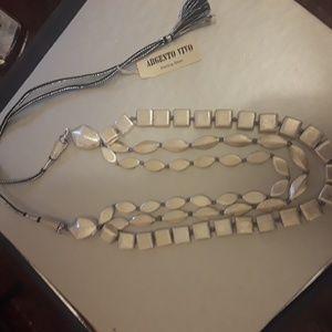 Argento Vivo layered necklace